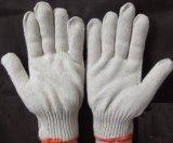 Luvas do trabalho, luvas da segurança, 10 luvas feitas malha calibre do algodão