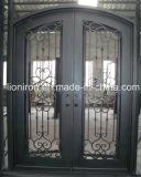人気株のドアの新居のための即時の出荷の鉄の両開きドア