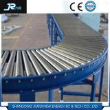 Trasportatore a rulli galvanizzato del acciaio al carbonio per la linea di produzione