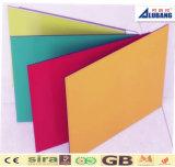 Decoración de aluminio colorida del revestimiento de la pared del panel compuesto de aluminio de PVDF