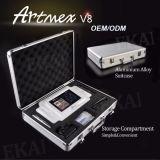 A tela de toque inteligente da potência HD do equipamento permanente o mais atrasado da composição de Artmex V8