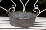反錆の白い鉄のプラント鍋つかみ