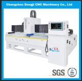 Máquina de proceso de cristal triaxial horizontal del borde del CNC para el vidrio electrónico