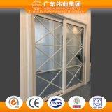 Productos directos del estilo de la fábrica de aluminio europea de la puerta deslizante