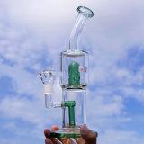 Großhandelsglaswasser-Rohr-Glastrinkwasserbrunnen-rauchendes Wasser-Rohr-Tabak-Rohr