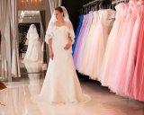 Vestido bonito para sua cerimónia de casamento inesquecível, vestidos de Weding de casamento