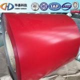 La couleur de PPGI a enduit la bobine en acier d'ISO9001