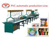 Linha de produção macia da injeção da base da sapata do PVC