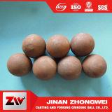 Le diamètre 20-150mm a modifié la bille de meulage en acier et la bille de moulage pour le broyeur à boulets