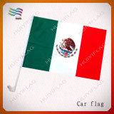 100%년 폴리에스테 멕시코 차 깃발 (HYCF-AF019)