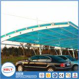 Anti panneau de polycarbonate d'abri de pluie de dessus de toit de couverture de baisse