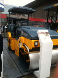 Costipatore vibratorio della strada unito gomma idraulica piena da 6 tonnellate (JM206H)