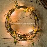 La cadena de hadas teledirigida de la guirnalda de la guirnalda enciende perfecto para la decoración del árbol del césped del jardín