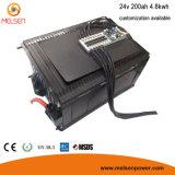 Pacchetto lungo della batteria di ione di litio di ciclo di vita 48V 200ah di capacità elevata per il sistema di energia solare