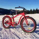 26inch雪の脂肪質のタイヤの電気バイクの電気自転車Ebike