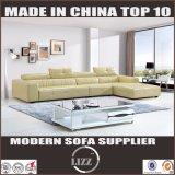 熱い販売の居間の家具の革ソファ