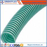 Manguito flexible de la succión del bombeo de agua del PVC