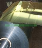 梱包材のための印刷された金属で処理されたPVCフィルム