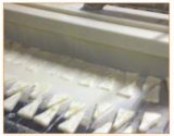 De Goudklompjes die van de Kip van de hamburger Machine sjj600-V slaan