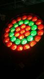 свет влияния Moving головки 37*10W RGBW 4in1 СИД моя с функцией сигнала