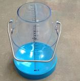 Milk plástico Bucket com Scale 25L, 32L para Milking Machine