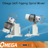 mélangeurs spiralés de inclinaison automatiques élevés de 130kg Quanlity