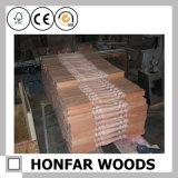 Balustrade en bois d'escalier de frontière de sécurité d'escalier de matériau de construction