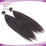 Kinky прямые бразильские человеческие волосы 8A связывают бразильские волос Yaki прямые