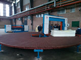 Machines circulaires de découpage de carrousel automatique pour le polyuréthane de mousse