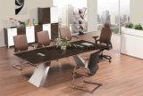 オフィスのプロジェクトのための現代メラミン会議の席のオフィス表の机のコンピュータ表