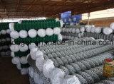 Rete metallica rivestita della rete fissa della rete metallica di collegamento Chain del PVC/del diamante