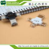 Lettore di schede multifunzionale 4 in 1 azionamento dell'istantaneo del USB con Tipo-c azionamento dell'istantaneo di /USB/porta Android