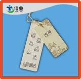 Kundenspezifische Papierpappkleid-Fall-Marken mit Zeichenkette