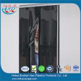Bande opaque Cutain de PVC de noir dans une Rolls