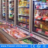 Congelatore superiore unito della parte inferiore del dispositivo di raffreddamento per il congelatore dell'alimento Frozen e della bevanda