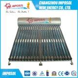 Calefator de água solar Non-Pressurized do aço inoxidável para o projeto