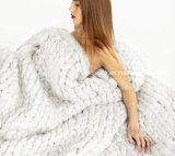 [هيغقوليتي] [ووول رن] يد يحبك أكريليكيّ حبل غطاء