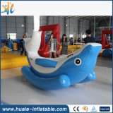 Fabrik-Preis-aufblasbarer Delphin-Typ ständiges Schwanken für Verkauf