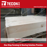 Viga de la madera del material de construcción H20 para el encofrado