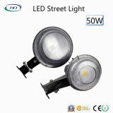 Высокое качество шарика светильника 100-277VAC сада уличного света 50W СИД IP65