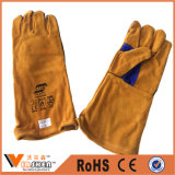 Good Price for Leather Safety Working Hand Gloves Welding Leather Gloves
