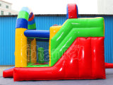 Durable Playground inflable seco de diapositivas, PVC Bouncer Slide