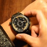 Шкалы вахты спорта 333 wristwatch спорта горячей людей кварца большой Unisex для людей