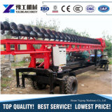China-hydraulischer Schrauben-Stapel-Großhandelsfahrer und Solarstapel-Fahrer-Maschinen-Einzelverkauf