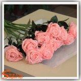Самый лучший продавая декоративный цветок Rose искусственного шелка