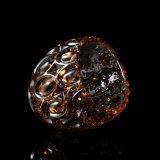 一義的な球の形のガラス蝋燭ホールダー