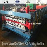 Rodillo de la hoja de la azotea de 3 capas que forma la máquina (AF-836)