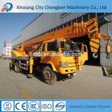 Cer CCC-ISO-zuverlässige Qualität 5 Tonnen verwendete hydraulische Hochkonjunktur-mobilen Mini-LKW-Kran mit doppelten Haken