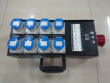 panel de potencia 32A con 8 canales 16A hacia fuera