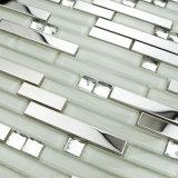 Нержавеющая сталь смешивания кристаллический стекла, плитки зеркала мозаики